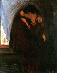 Munch il bacio